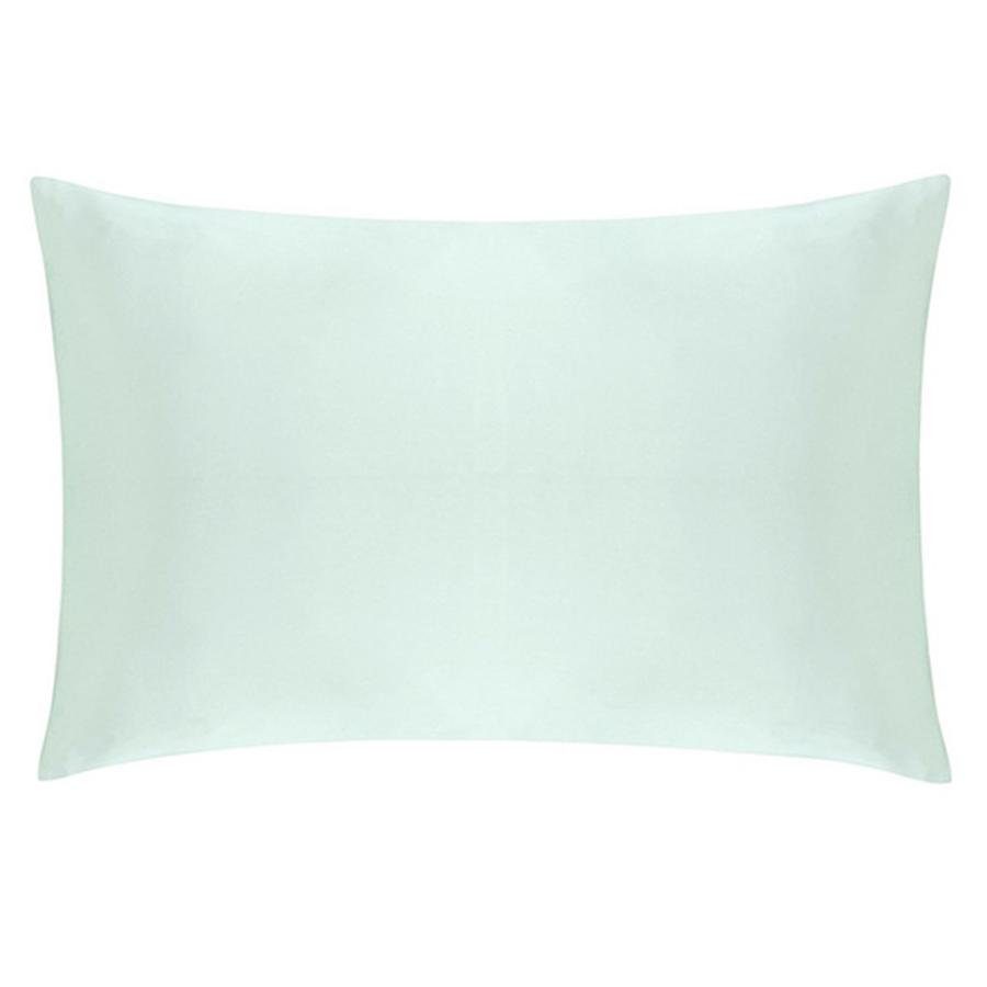 mint green silk pillowcase